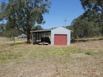 tractor shed & carport