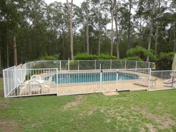 inground, fibreglass, saltwater pool