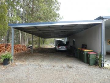 6 car carport